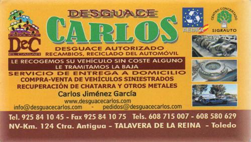 Desguace Carlos