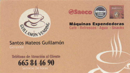 Guillamón Vending