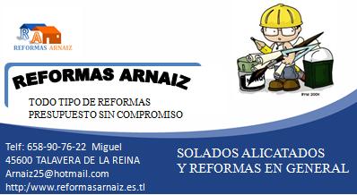 Reformas Arnaiz